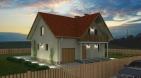 Проект удобного дома с гаражом